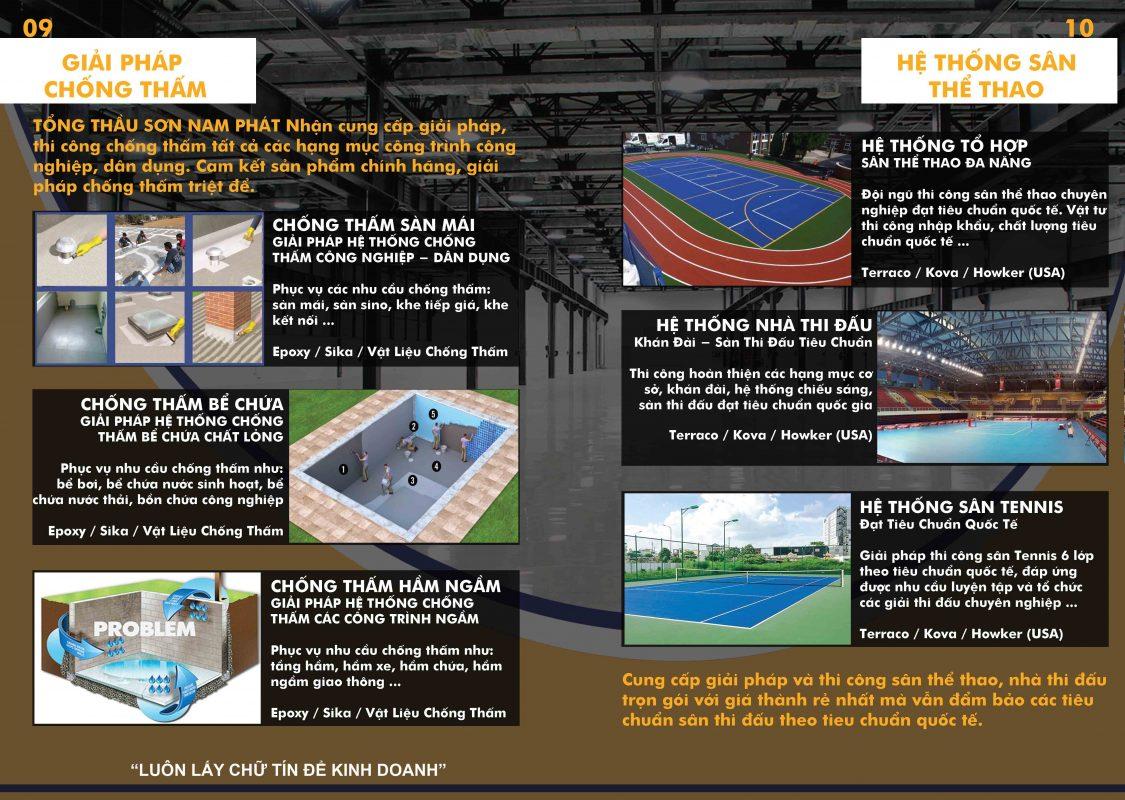 NAM PHÁT CONSTRUCTION & FLOORING nhà thầu xây dựng chuyên nghiệp thi công sân thể thao, nhà xưởng, xoa nền bê tông, sàn siêu phẳng, vạch kẻ đường …