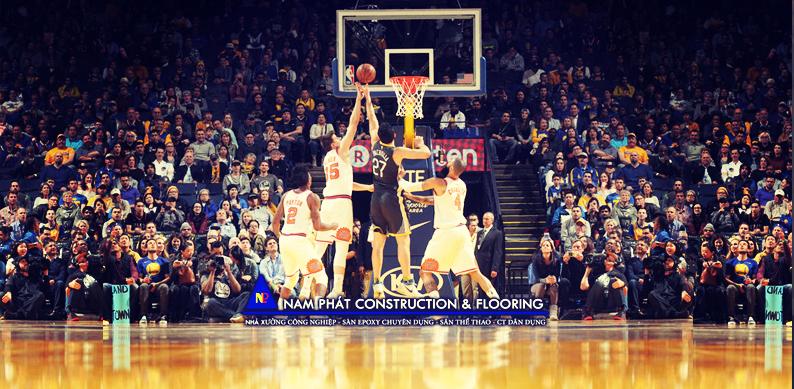 Một trận thi đấu bóng rổ