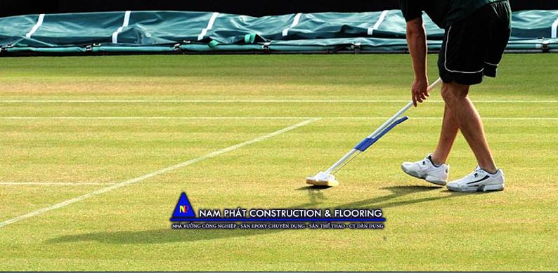 thi công xây dựng- sửa chữa- cải tạo sân thể thao