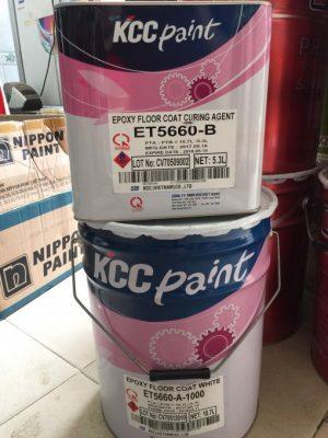 sơn phủ Epoxy KCC ET5660